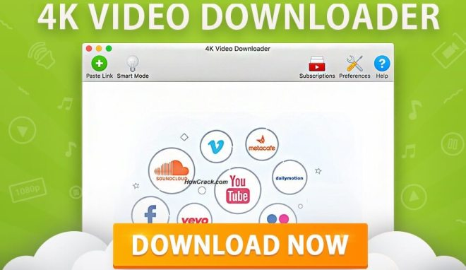 4K Video Downloader 4.12.3 Crack + License Key [Win/Mac] Full Version