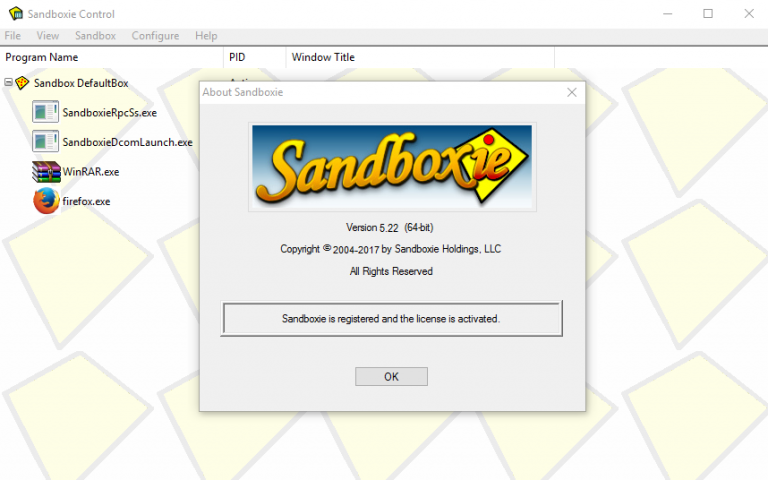 Sandboxie Install