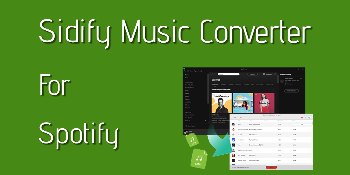 Sidify Music Converter v2.3.2 Crack with Keys Latest Version Free Download 2021