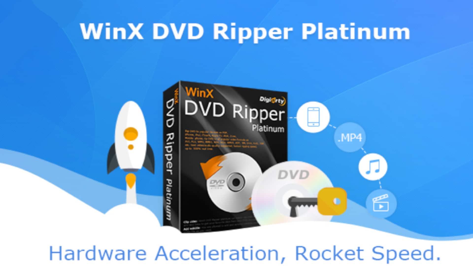WinX DVD Ripper Platinum 8.20.8.246 Crack [Latest] 2021