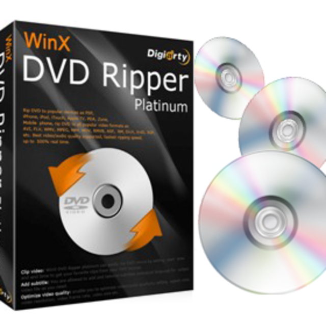 WinX DVD Ripper Platinum 2020 Crack + Serial Key Free Full Download