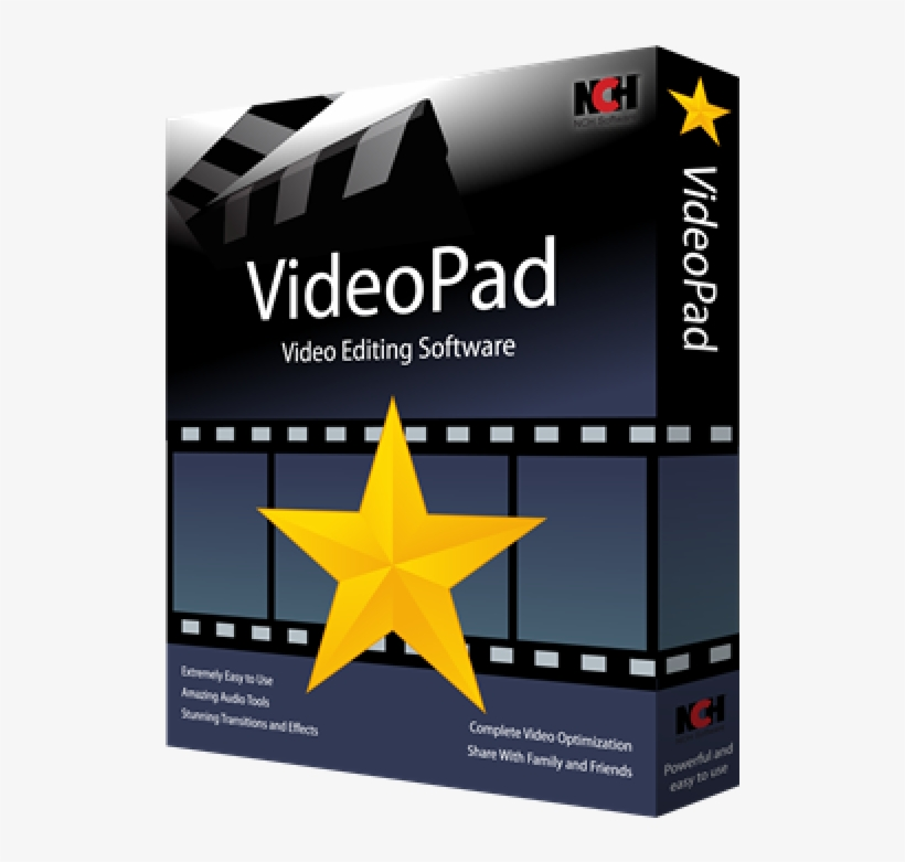 NCH VideoPad Video Editor 8.66 Crack + Registration Code [Updated]