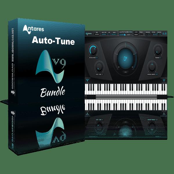 Antares AutoTune 9.1.1 Crack Free Download [Mac +Win]