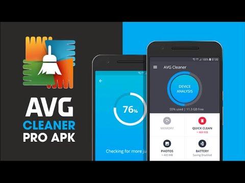 AVG Cleaner Apk Pro v5.4.1 Crack 2021 Full Torrent Version [2021]