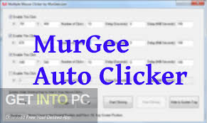 Murgee Auto Clicker 16.1 Crack With Registration Key  [Latest] 2021
