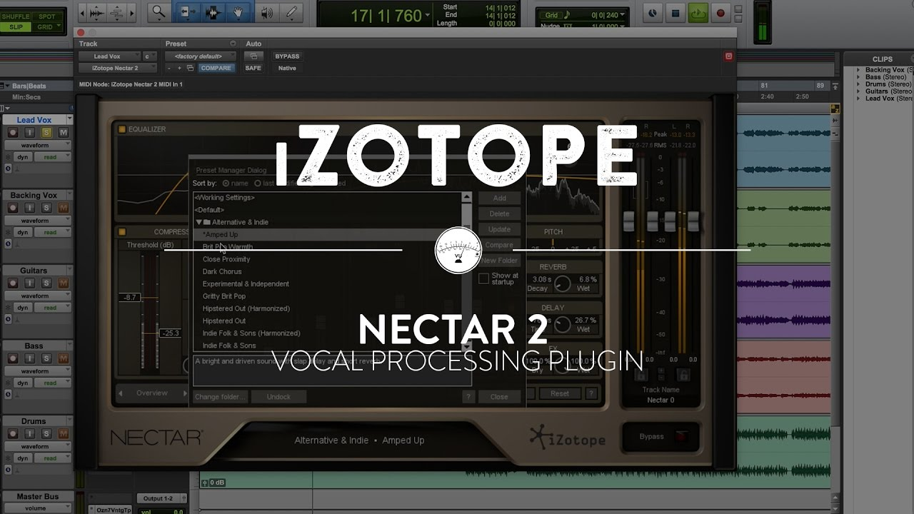iZotope Nectar 3.11 Crack 2021 With Serial Number Free Download [For Windows]