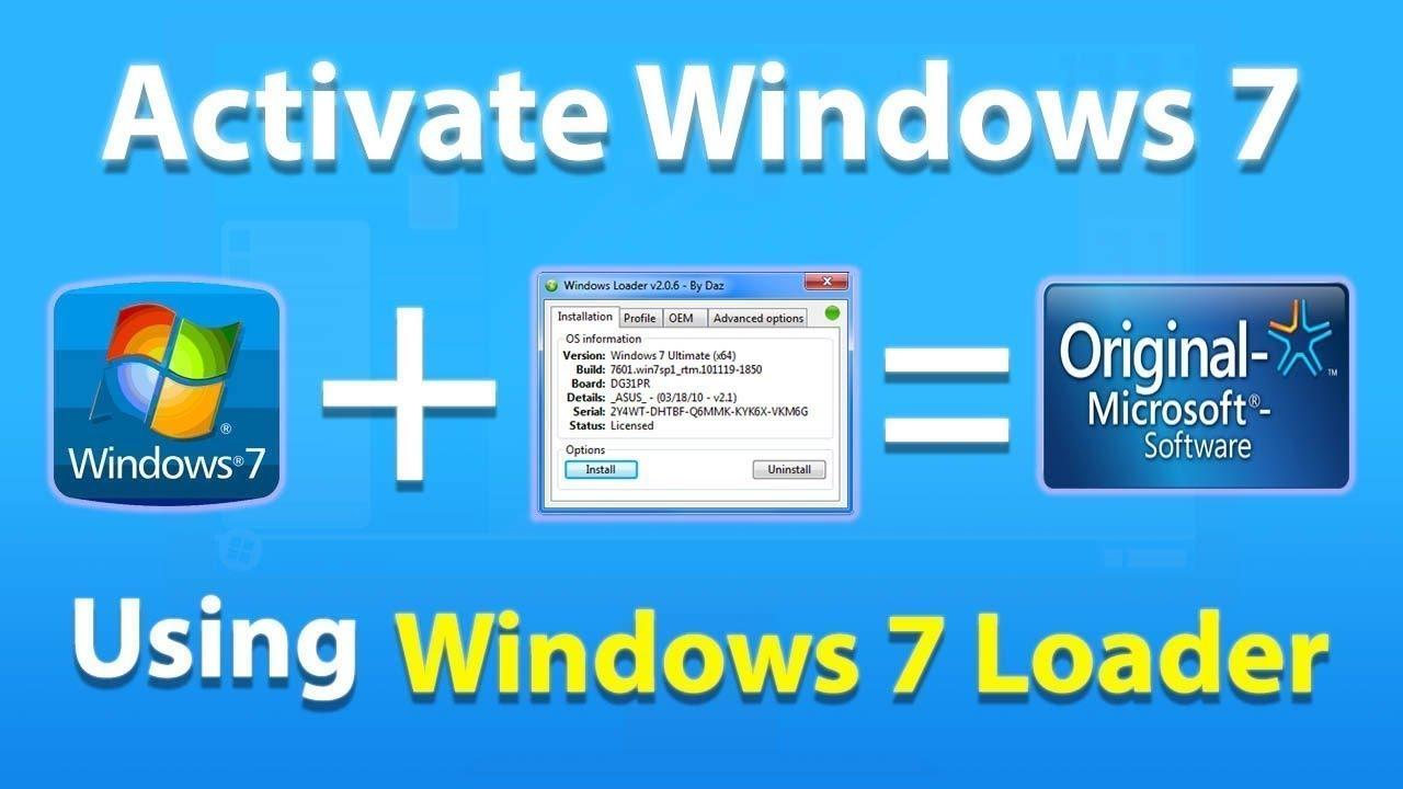 Windows 7 Activator 32 & 64 bit {Upgraded Version} 2021