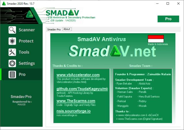 Smadav Pro 14.6.4 2021 Activation Code